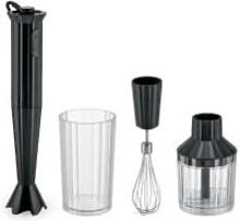 Alessi - Black Plisse Hand Blender Set