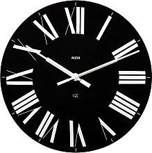 Alessi Firenze Wall Clock, Black