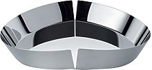 Alessi Fruit Bowl in 18/10, Stainless Steel,