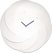 Alessi Infinity Wall Clock-Steel Coloured with