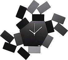 Alessi La Stanza dello Scirocco Wall Clock-Steel