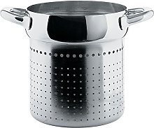 Alessi Mami Colander for Pasta Set, Stainless