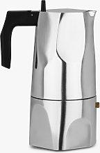 Alessi Ossidiana Espresso Coffee Maker, 6 Cup