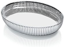 Alessi Oval Basket, Silver