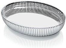 Alessi Oval Basket, Silver