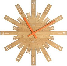 Alessi Taggiante MDL05 Wall Clock, Bamboo, Wood,