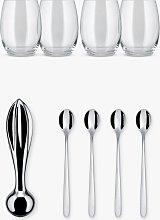 Alessi The Player Cocktails Accessories Set
