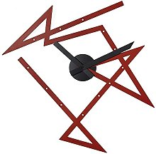 Alessi Time Maze Wall Clock-Steel Coloured with