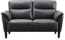Alessia 2 Seater Leather Sofa