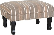 Alethea Footstool Marlow Home Co. Upholstery