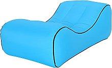 ALEVMOOM Inflatable Lounger Ergonomic Beach Bed
