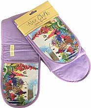 Alex Clark BEE GARDEN OVEN GLOVES