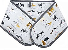 Alex Clark Delightful Dogs Oven Gloves