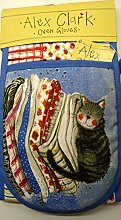 Alex Clark Laundry Basket Cat Oven Gloves