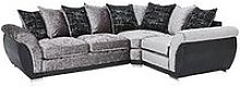 Alexa Fabric And Faux Leather Right Hand Scatter
