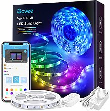 Alexa LED Strip Lights 5 Metre, Govee Smart WiFi