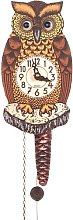 Alexander Taron 861/1 Wind up Owl Clock with