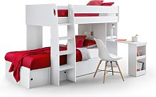 Alexei Single Bunk Bed with Drawers Isabelle & Max
