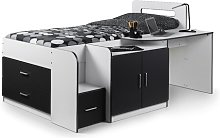 Alexis Single Cabin Bed with Drawers Isabelle & Max