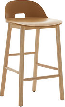 Alfi Bar stool - H 80 cm - Pied frêne by Emeco