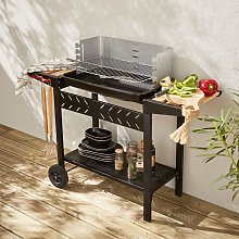 Alfred charcoal BBQ - Charcoal grill black