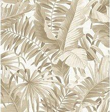 Alfresco Palm Leaf 10m x 52cm Wallpaper Roll Bay