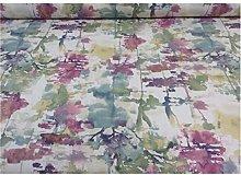 Alfresco Summer Teal Cotton Prestigious Textiles