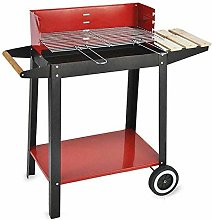 Algon Charcoal Barbecue with Wheels (52 x 27 cm)