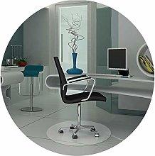 ALGWXQ Clear Desk Protector Office Chair Cushion