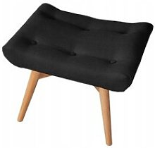 Ali Footstool Isabelline Upholstery Colour: