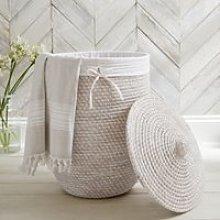 Alibaba Laundry Basket. The White Company. One Size