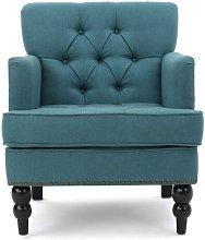 Alica Armchair Three Posts Upholstery Colour: Dark