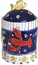 Alice's Collection - Ceramic Cookie Jar with