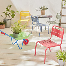 Alice's Garden - 4-seater Kids Table Set -