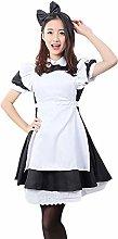 Alice's Wonderland Costume Lolita Dress Maid