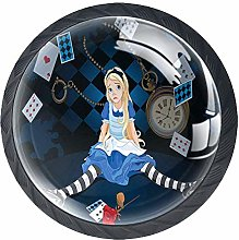 Alice in Wonderland Drawer Pulls Handle, Grown