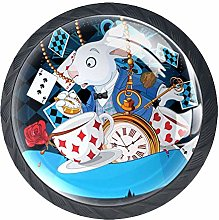 Alice in Wonderland Drawer Pulls Handle, Rabbit