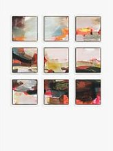 Alice Sheridan - Abstract Floating Framed Canvas