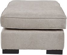 Alicea Footstool Brambly Cottage Upholstery: Taupe