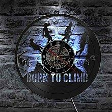 alicefen 1Piece Vinyl Clock Climb Evolution Born