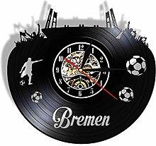 alicefen Bremen Stylish Vinyl Record Wall Clock