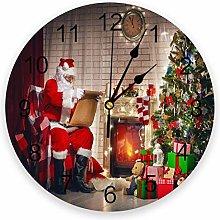 alicefen Christmas Christmas Tree Santa Claus Wall