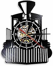 alicefen Creative Retro Steam Locomotive Black