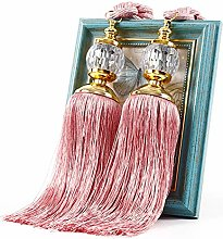 Alicer 1 Pair Curtain Tie Backs Curtain Clips Rope