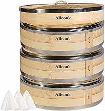 Alicook 27cm 3 Tier Dual Steel Rims Reinforced