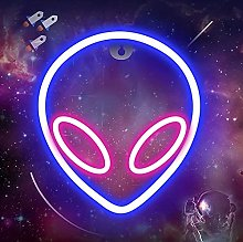 Alien Neon Signs Lights, Neon Lights for Bedroom,