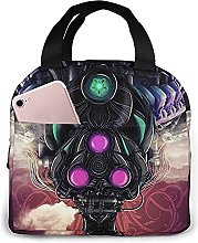 Alien Portable Lunch Bag Insulated Cooler Tote Box