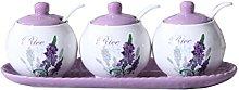Alien Storehouse Set of 3 Ceramic Spice Jar