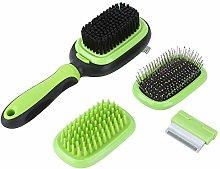 Alinory 5 in 1 Pet Massage Comb, Pet Hair Comb,