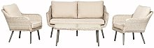 Alita 4 Seater Rattan Sofa Set Sol 72 Outdoor
